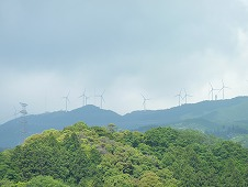 津市の風車