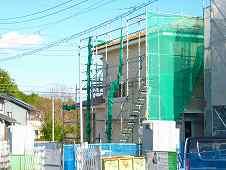 津市不動産 三重県津市安濃町田端上野 建売住宅 外部サイディングが終了
