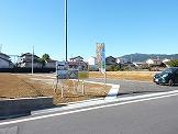 アメニティホームの看板 安濃町田端上野